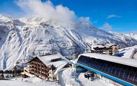 Hochgurgl high in the Austrian Tyrol