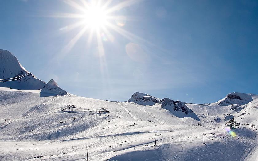 Kitzsteinhorn Glacier in Austria