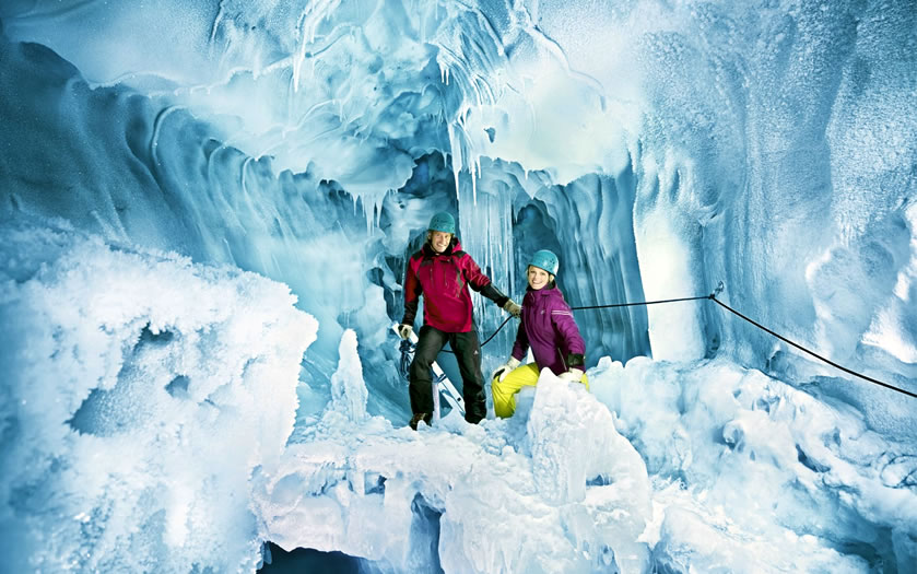 Natur Eis Palast