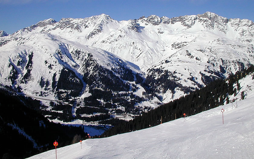 St Anton am Arlberg ski area