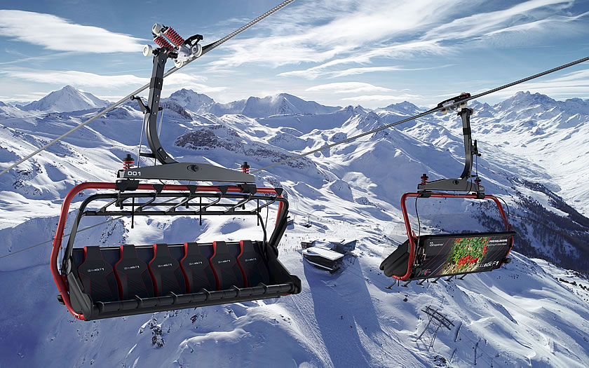 The fastest chairlift in the Silvretta Arena - the new Velilleckbahn