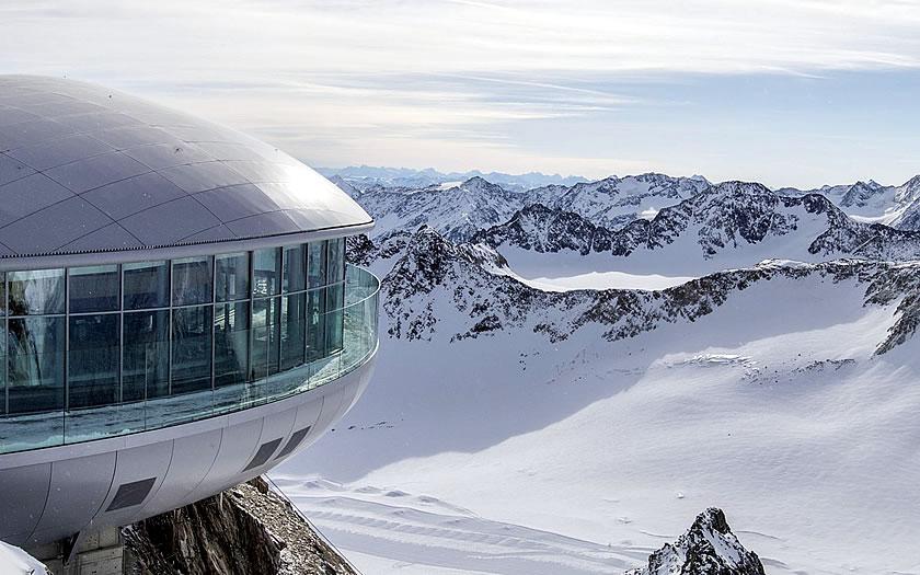 Ski Challenge Pitztal glacier