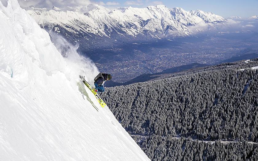 Axamer Lizum near Innsbruck