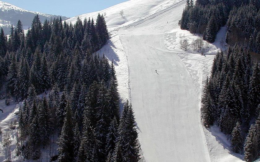 Skiing in Kitzbühel