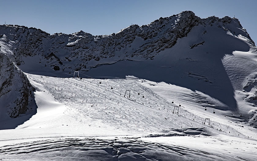 The Rettenbach glacier above Sölden