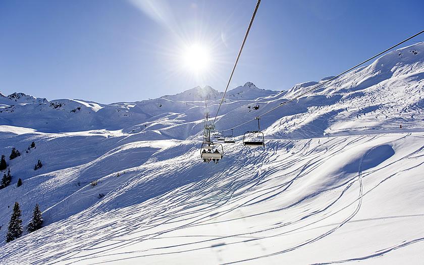 The Sonnenkopf ski area