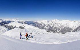 Skiing the Sonnenkopf