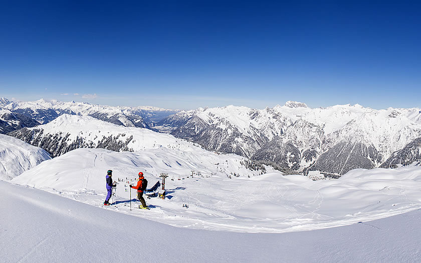 Skiing the Sonnenkopf