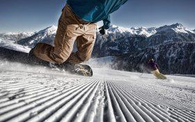 The Silvretta Montafon ski area in Vorarlberg