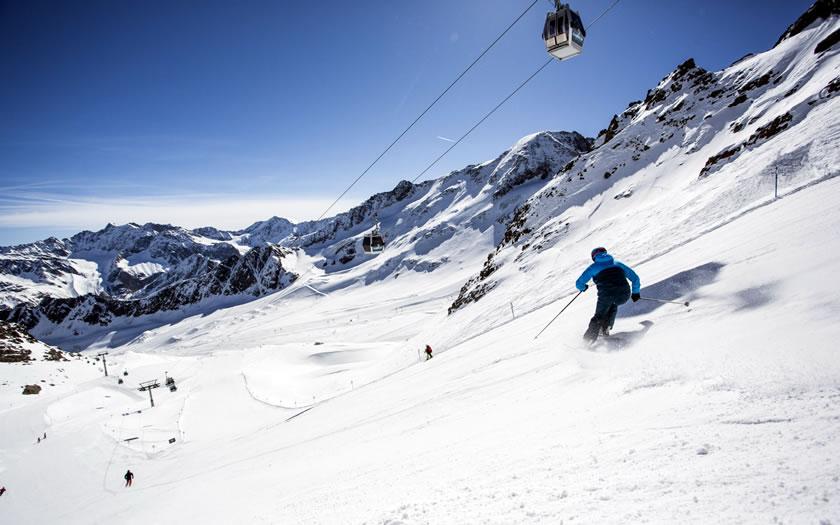 Kaunertal glacier ski area