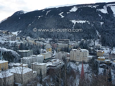 Skiing in Bad Gastein Austria