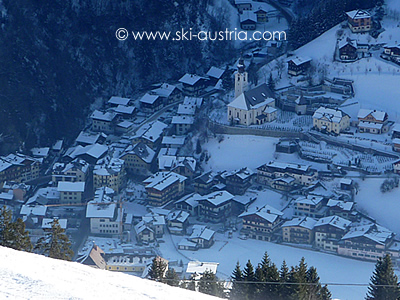 Skiing in Grossarl Austria