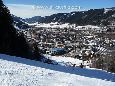 Skiing in Schladming, Austria