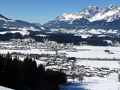 Looking out over Oberndorf