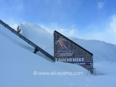 Zauchensee World Cup ski lift